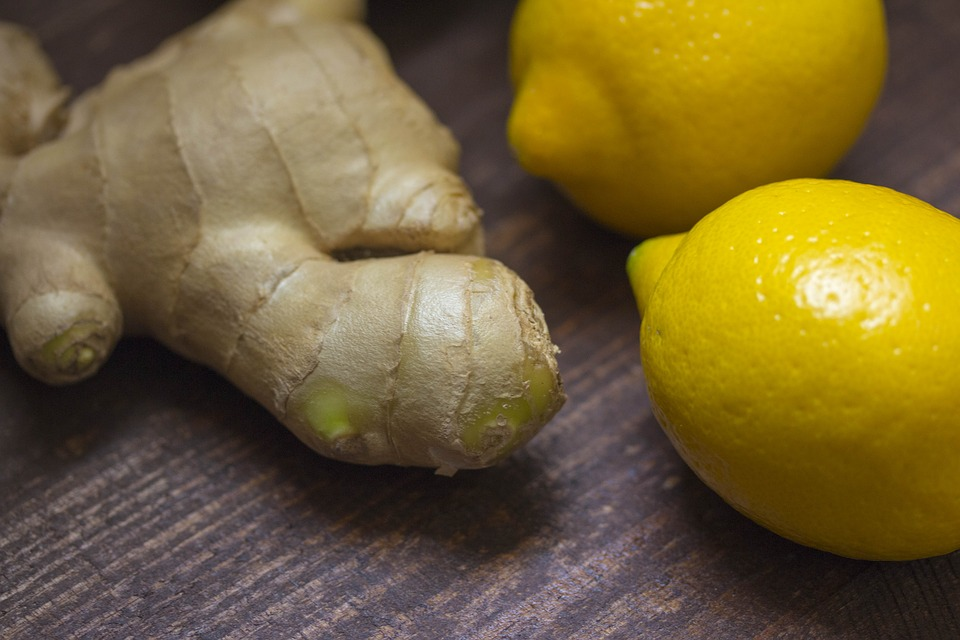 zázvor a citron