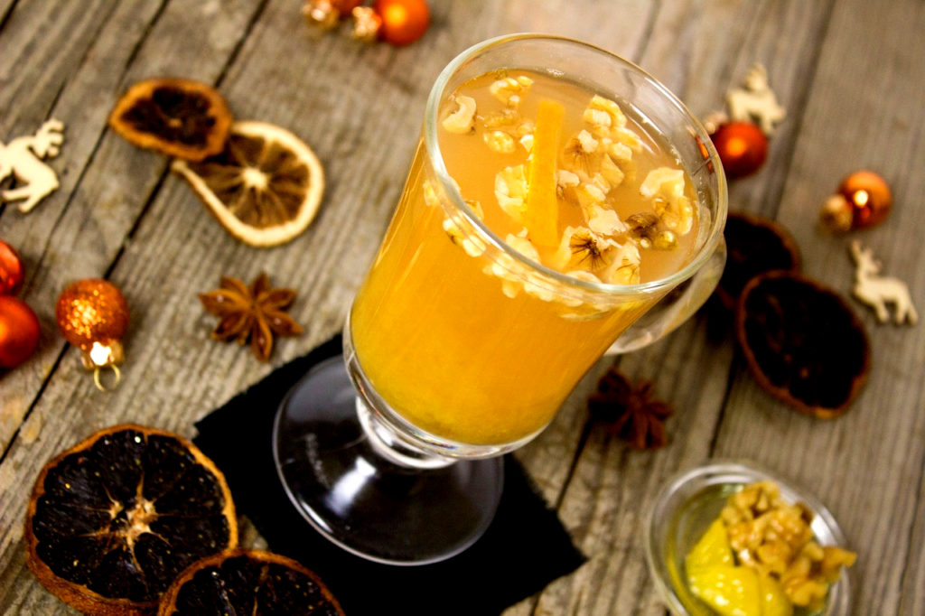 pomerančový party punč