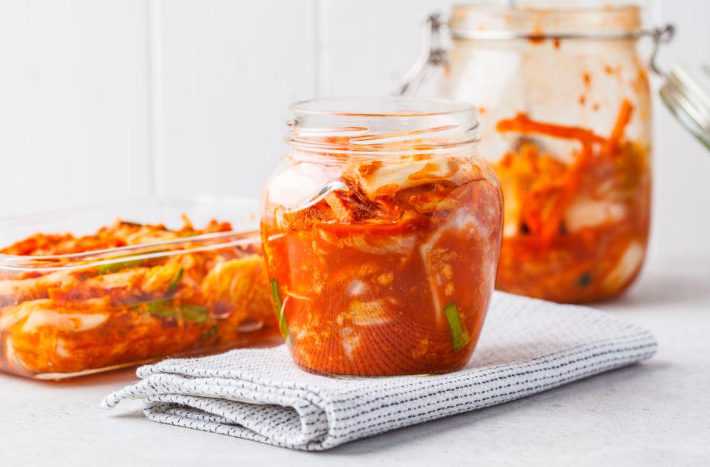 kimchi ve sklenici
