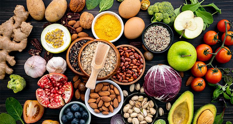 potraviny na krásu