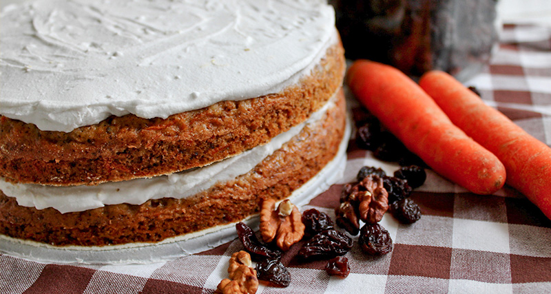 mrkvový dort náhled