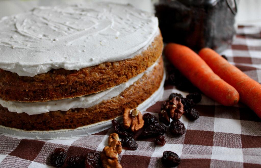 mrkvový dort 2