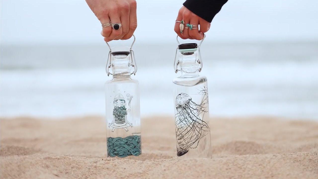 Skleněné lahve Soulbottles