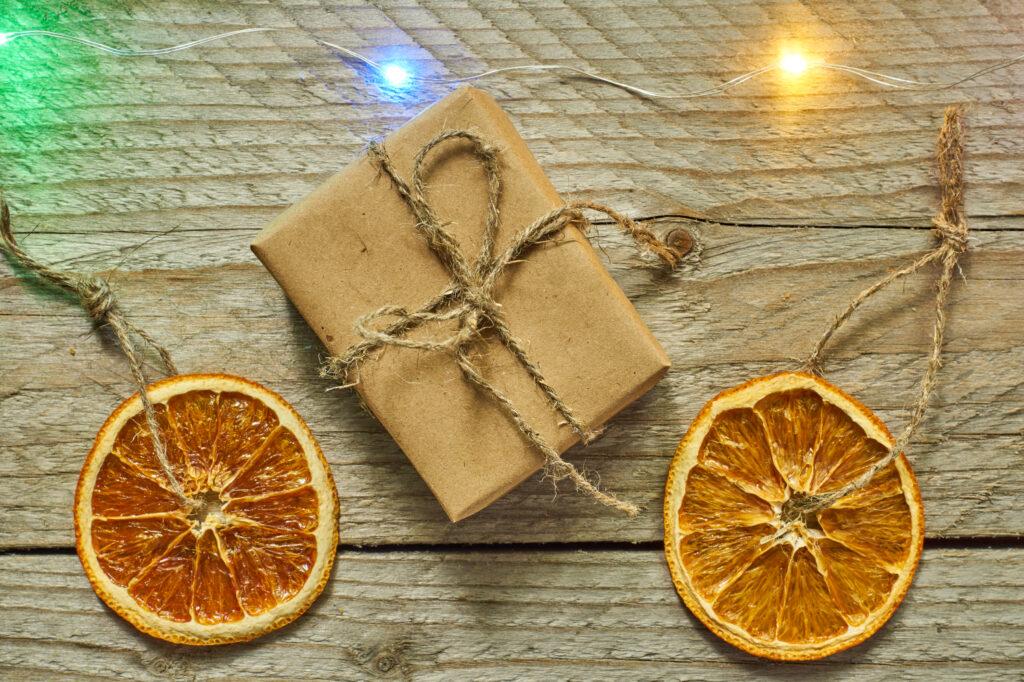 sušené ovoce dekorace