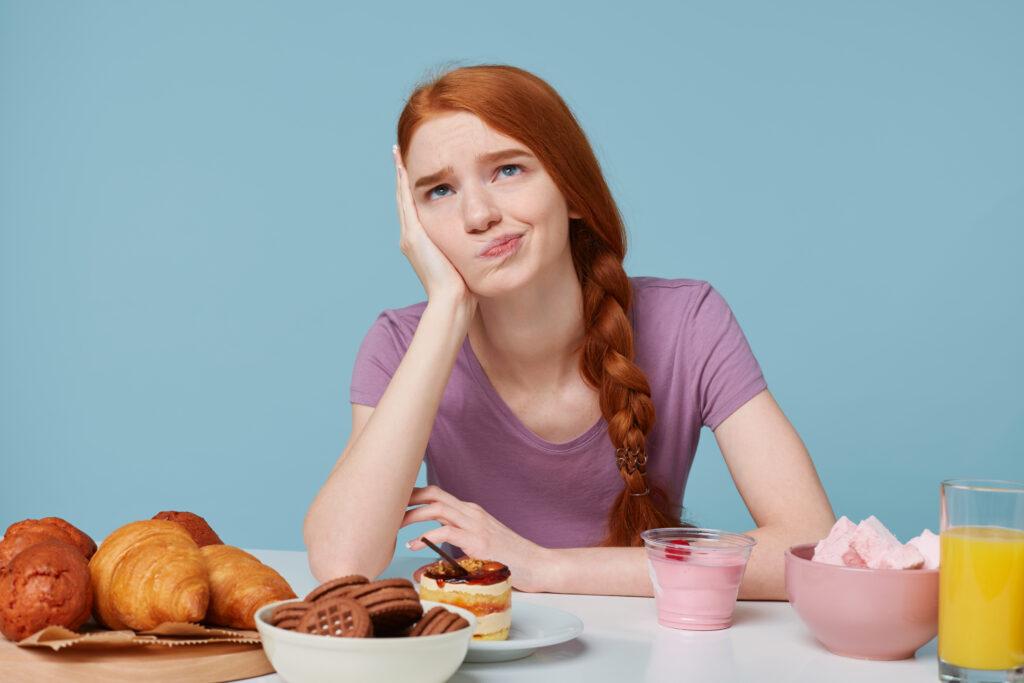 chyby ve stravování