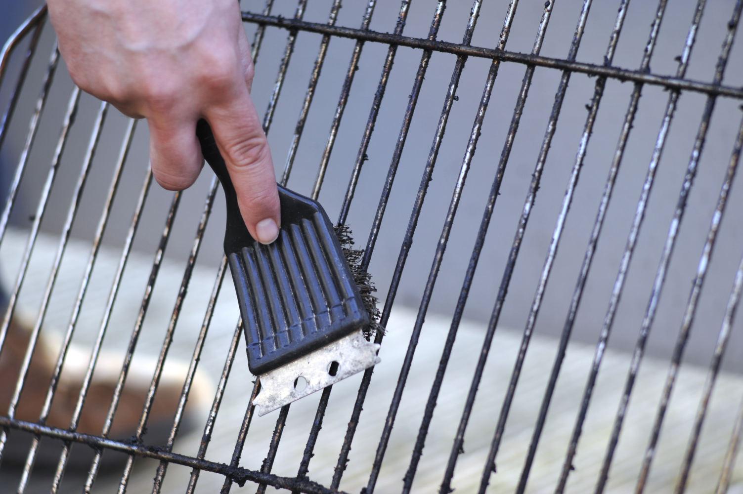 čištění grilu