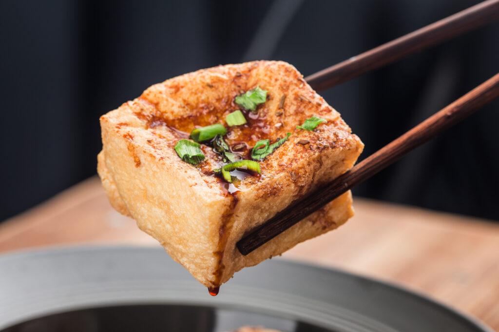 smažené tofu